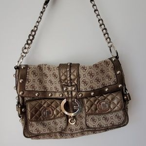 NWT Guess by Marciano brown shoulder bag